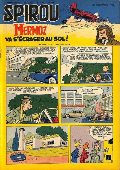 Cover for Spirou (Dupuis, 1947 series) #924