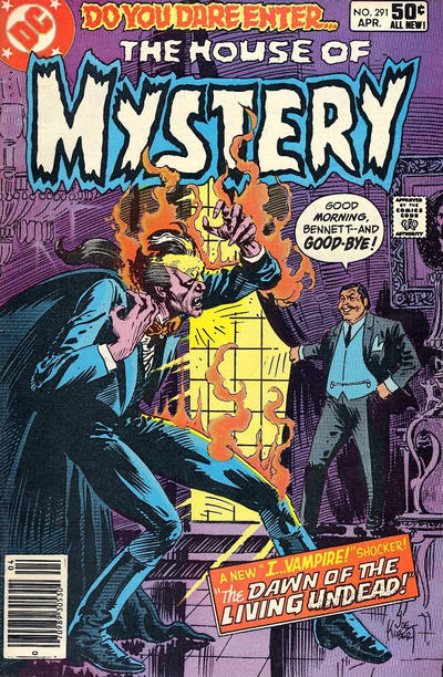 Cover for House of Mystery (DC, 1951 series) #291 [Direct]