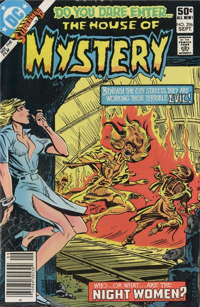 Cover for House of Mystery (DC, 1951 series) #296 [Direct]