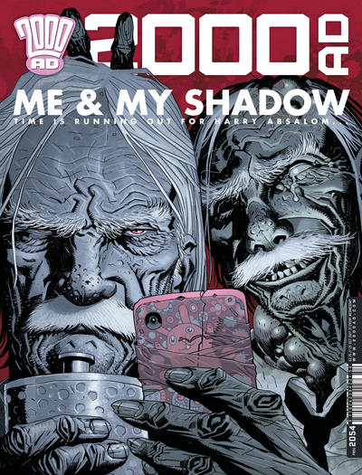 Cover for 2000 AD (Rebellion, 2001 series) #2054