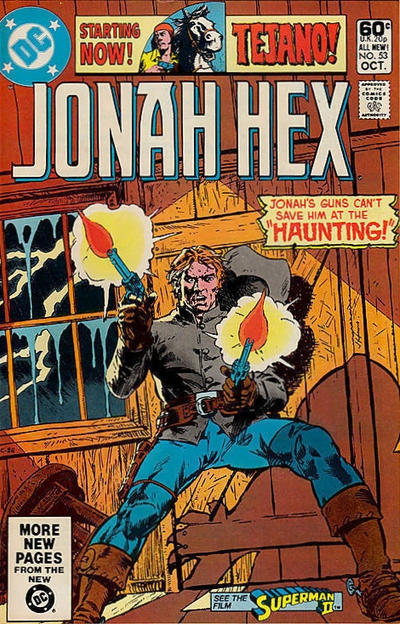 Cover for Jonah Hex (DC, 1977 series) #53 [Direct]