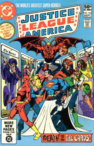 Cover for Justice League of America (DC, 1960 series) #194 [Direct]