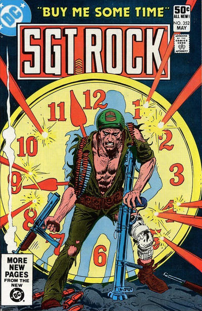 Cover for Sgt. Rock (DC, 1977 series) #352 [Direct]