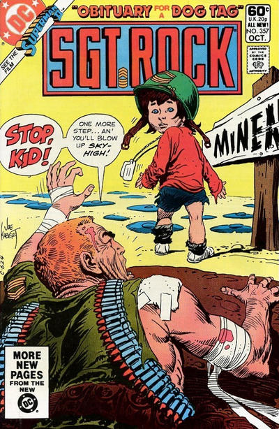 Cover for Sgt. Rock (DC, 1977 series) #357 [Direct]