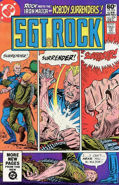 Cover for Sgt. Rock (DC, 1977 series) #359 [Direct]