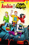 Cover for Archie Meets Batman '66 (Archie, 2018 series) #2 [Cover B Burchett and Peña]