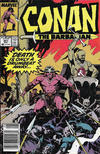 Cover for Conan the Barbarian (Marvel, 1970 series) #221 [Newsstand]