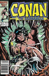 Cover for Conan the Barbarian (Marvel, 1970 series) #186 [Newsstand]