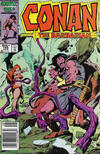 Cover for Conan the Barbarian (Marvel, 1970 series) #185 [Canadian]