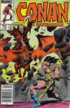 Cover for Conan the Barbarian (Marvel, 1970 series) #179 [Canadian]