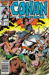 Cover for Conan the Barbarian (Marvel, 1970 series) #182 [Canadian]