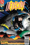 Cover for Detective Comics (DC, 1937 series) #640 [Newsstand]