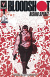 Cover for Bloodshot Rising Spirit (Valiant Entertainment, 2018 series) #1 [NC Comicon - Ben Bishop]