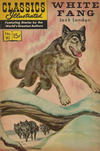 Cover for Classics Illustrated (Gilberton, 1947 series) #80 [HRN 167] - White Fang [HRN 167]