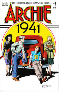 Cover Thumbnail for Archie 1941 (Archie, 2018 series) #1 [Cover A Peter Krause]