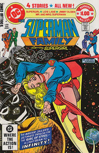 Cover Thumbnail for The Superman Family (DC, 1974 series) #221 [Direct]