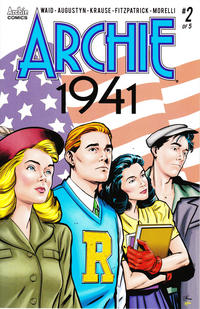 Cover Thumbnail for Archie 1941 (Archie, 2018 series) #2 [Cover A Peter Krause]