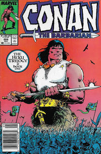 Cover Thumbnail for Conan the Barbarian (Marvel, 1970 series) #206 [Newsstand]