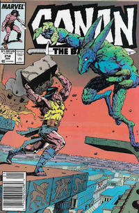 Cover Thumbnail for Conan the Barbarian (Marvel, 1970 series) #214 [Newsstand]