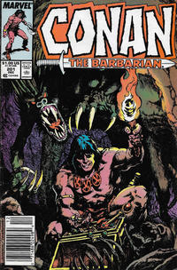 Cover Thumbnail for Conan the Barbarian (Marvel, 1970 series) #201 [Newsstand]