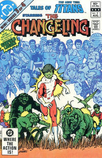 Cover Thumbnail for Tales of the New Teen Titans (DC, 1982 series) #3 [Direct]