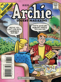 Cover Thumbnail for Archie Comics Digest (Archie, 1973 series) #197 [Direct Edition]