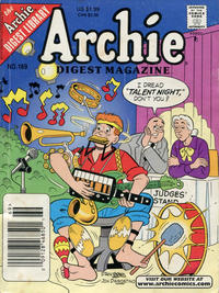 Cover Thumbnail for Archie Comics Digest (Archie, 1973 series) #169 [Newsstand]
