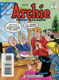 Cover Thumbnail for Archie Comics Digest (Archie, 1973 series) #203 [Direct Edition]