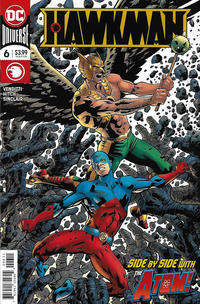 Cover Thumbnail for Hawkman (DC, 2018 series) #6 [Bryan Hitch Cover]