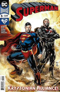 Cover Thumbnail for Superman (DC, 2018 series) #5 [Ivan Reis & Joe Prado Cover]