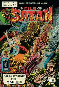 Cover Thumbnail for Le Fils de Satan (Arédit-Artima, 1975 series) #1