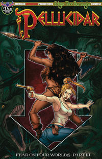 Cover Thumbnail for Edgar Rice Burroughs' Pellucidar: Fear on Four Worlds (American Mythology Productions, 2018 series) #1 [Visions Cover]
