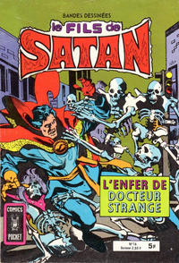 Cover Thumbnail for Le Fils de Satan (Arédit-Artima, 1975 series) #16