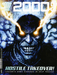 Cover Thumbnail for 2000 AD (Rebellion, 2001 series) #2107