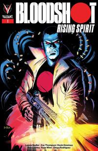 Cover Thumbnail for Bloodshot Rising Spirit (Valiant Entertainment, 2018 series) #1 [Borderlands - Veronica Fish]