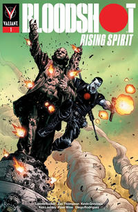 Cover Thumbnail for Bloodshot Rising Spirit (Valiant Entertainment, 2018 series) #1 [Fight or Flight - Josh Cassara]