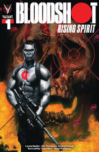 Cover Thumbnail for Bloodshot Rising Spirit (Valiant Entertainment, 2018 series) #1 [Gotham Central - Paul Limgenco]