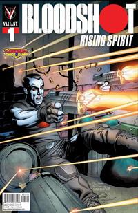 Cover Thumbnail for Bloodshot Rising Spirit (Valiant Entertainment, 2018 series) #1 [Legends Comics & Games - Josh Adams]
