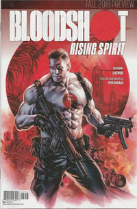 Cover Thumbnail for Bloodshot Rising Spirit (Valiant Entertainment, 2018 series) #1 [Fall 2018 Preview]