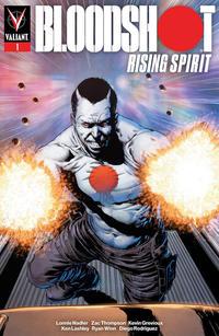 Cover Thumbnail for Bloodshot Rising Spirit (Valiant Entertainment, 2018 series) #1 [Heroes Dutch Comic Con - Manuel Garcia]