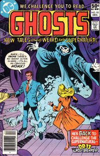 Cover Thumbnail for Ghosts (DC, 1971 series) #95 [Newsstand]