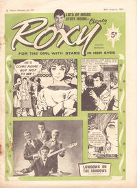Cover Thumbnail for Roxy (Amalgamated Press, 1958 series) #26 August 1961 [181]