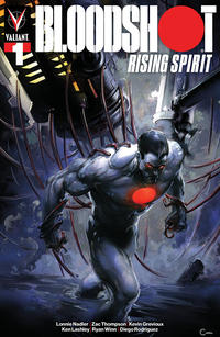 Cover Thumbnail for Bloodshot Rising Spirit (Valiant Entertainment, 2018 series) #1 [Scorpion Comics - Clayton Crain]