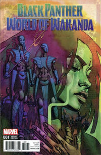 Cover Thumbnail for Black Panther: World of Wakanda (Marvel, 2017 series) #1 [Incentive Brian Stelfreeze Variant]