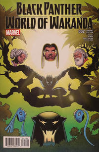 Cover Thumbnail for Black Panther: World of Wakanda (Marvel, 2017 series) #2 [Incentive Trevor von Eeden Variant]