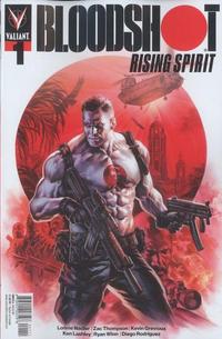 Cover Thumbnail for Bloodshot Rising Spirit (Valiant Entertainment, 2018 series) #1 [Cover A - Felipe Massafera]