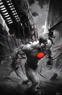 Cover Thumbnail for Bloodshot Rising Spirit (Valiant Entertainment, 2018 series) #1 [Scorpion Comics - Black and White - Clayton Crain]