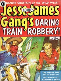 Cover Thumbnail for Jesse James Comics (Thorpe & Porter, 1952 series) #7