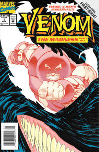 Cover Thumbnail for Venom: The Madness (Marvel, 1993 series) #1 [Newsstand]