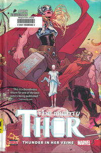 Cover Thumbnail for Mighty Thor (Marvel, 2016 series) #1 - Thunder in Her Veins